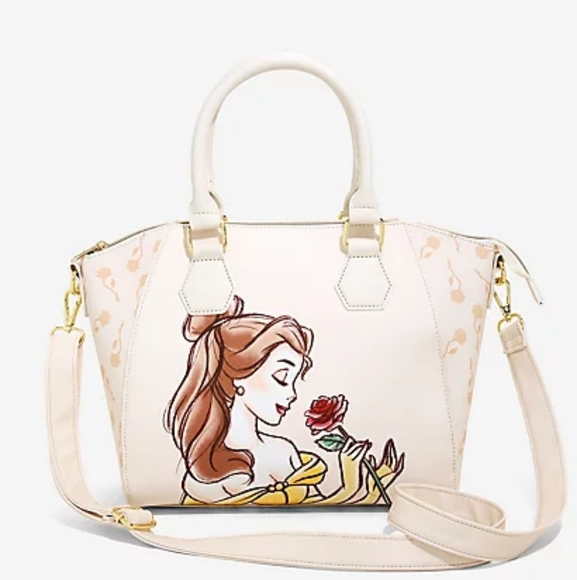 Loungefly Beauty And The Beast Belle Satchel Purse